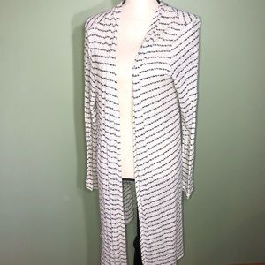 Charming Charlie XL cardigan striped duster